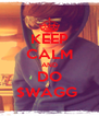 KEEP CALM AND DO $WAGG  - Personalised Poster A4 size