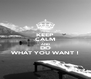 KEEP CALM AND DO WHAT YOU WANT ! - Personalised Poster A4 size
