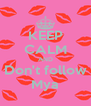 KEEP CALM AND Don't follow Mya - Personalised Poster A4 size