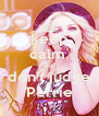 keep calm  and don't judge Perrie - Personalised Poster A4 size