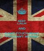 KEEP CALM AND DON'T TOUCH WHAT YOU CAN'T AFFORD - Personalised Poster A4 size