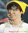 KEEP CALM AND DONGHAE ALWAYS BE MINE - Personalised Poster A4 size