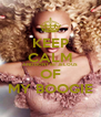 KEEP CALM AND DONT BE JELOUS OF MY BOOGIE - Personalised Poster A4 size