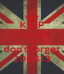 KEEP CALM AND don't forget 200613 - Personalised Poster A4 size