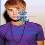 KEEP CALM AND DONT HATE JUSTIN BIEBER - Personalised Poster A4 size