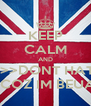 KEEP CALM AND >>>>>>DONT HATE ME >>>>>COZ IM BEUATIFUL - Personalised Poster A4 size