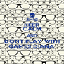 KEEP CALM AND DONT PLAY WITH GAMES DIANA - Personalised Poster A4 size