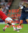 KEEP CALM AND DOUBLE NUTMEG - Personalised Poster A4 size