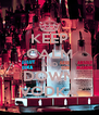 KEEP CALM AND DOWN VODKA - Personalised Poster A4 size