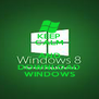 KEEP CALM AND DOWNLOAD WINDOWS - Personalised Poster A4 size