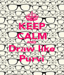 KEEP CALM AND Draw like Purvi - Personalised Poster A4 size