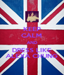 KEEP CALM AND DRESS LIKE ALEXA CHUNG - Personalised Poster A4 size
