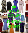 KEEP CALM AND DRESS RIGHT - Personalised Poster A4 size