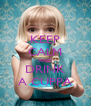 KEEP CALM AND DRINK A CUPPA - Personalised Poster A4 size