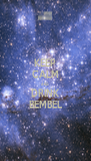 KEEP CALM AND DRINK BEMBEL - Personalised Poster A4 size