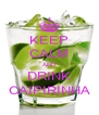 KEEP CALM AND DRINK CAIPIRINHA - Personalised Poster A4 size