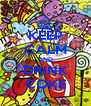 KEEP CALM AND DRINK COKE - Personalised Poster A4 size