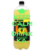 KEEP CALM AND DRINK KA - Personalised Poster A4 size