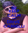 KEEP CALM AND DRIVE  CARRELLI - Personalised Poster A4 size