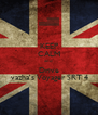 KEEP CALM and Drive  vazha's Voyager SRT 4 - Personalised Poster A4 size