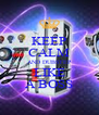 KEEP CALM AND DUBSTEP LIKE A BOSS - Personalised Poster A4 size