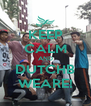 KEEP CALM AND DUTCHB WEARE! - Personalised Poster A4 size