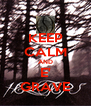 KEEP CALM AND E' GRAVE - Personalised Poster A4 size