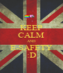 KEEP CALM AND E-SAFETY :D - Personalised Poster A4 size