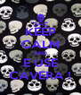 KEEP CALM AND E USE CAVERA ! - Personalised Poster A4 size