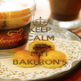 KEEP CALM AND EAT BAKERON'S - Personalised Poster A4 size
