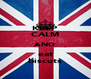 KEEP CALM AND eat biscuts - Personalised Poster A4 size