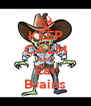 KEEP CALM AND Eat Brains - Personalised Poster A4 size