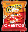 KEEP CALM AND EAT CHEETOS - Personalised Poster A4 size