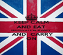 KEEP CALM AND EAT CHOCOLATE WITH MARY  AND  CARRY ON - Personalised Poster A4 size