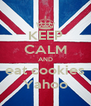 KEEP CALM AND eat cookies Yahoo - Personalised Poster A4 size