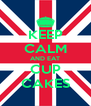 KEEP CALM AND EAT CUP CAKES - Personalised Poster A4 size