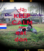 KEEP CALM AND eat  don  - Personalised Poster A4 size