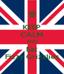 KEEP CALM AND Eat Fizzy Grizzlies - Personalised Poster A4 size