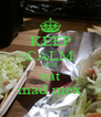 KEEP CALM AND eat mad mex - Personalised Poster A4 size