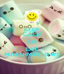 KEEP CALM AND EAT MARSHMALLOWS - Personalised Poster A4 size