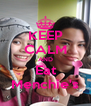 KEEP CALM AND Eat Menchie's - Personalised Poster A4 size