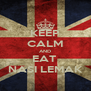KEEP CALM AND EAT  NASI LEMAK - Personalised Poster A4 size