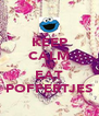 KEEP CALM AND EAT POFFERTJES - Personalised Poster A4 size