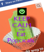 KEEP CALM AND Eat  Popcicals  - Personalised Poster A4 size