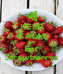 KEEP CALM AND Eat Strawberrys - Personalised Poster A4 size
