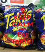 KEEP CALM AND Eat TaKis!! - Personalised Poster A4 size