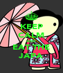 KEEP CALM AND EAT THE JAPA - Personalised Poster A4 size