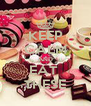 KEEP CALM AND EAT  THESE - Personalised Poster A4 size