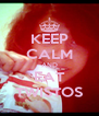 KEEP CALM AND EAT TWISTOS - Personalised Poster A4 size