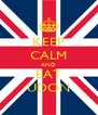 KEEP CALM AND EAT UDON - Personalised Poster A4 size